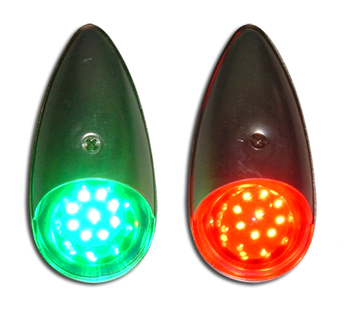 Led Replacement Lamps For Navigation Lights From Aircraft
