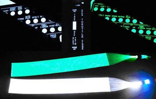 Fiber Optic Panel Backlighting Kit White From Aircraft Spruce Europe