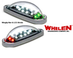 WHELEN MICROBURST II KIT MB2R & MB2G LIGHTING