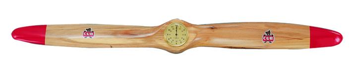 Propeller Clock Kit : Arrowprop inch piper cub prop clock with quartz face