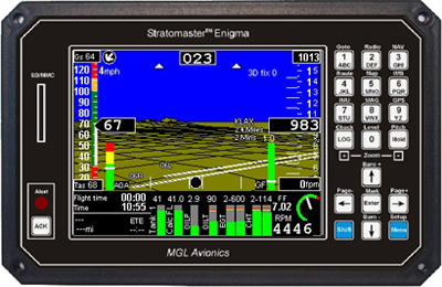Stratomaster Enigma Efis With Gps From Aircraft Spruce Europe