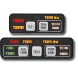 Mci Taws Annunciation Control Unit Horizontal 28v Md41