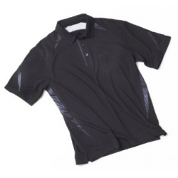 BOEING TECH POLO SHIRT BLACK SML