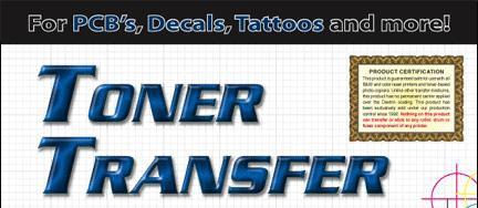 toner transfer paper