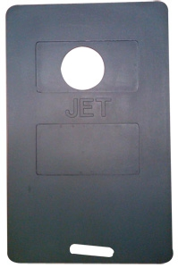 Fueling Mat Avmat Jet1 Black Top Hole From Aircraft Spruce