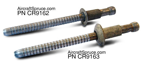 Self Plugging Rivet Cr9163 4 4 From Aircraft Spruce Europe